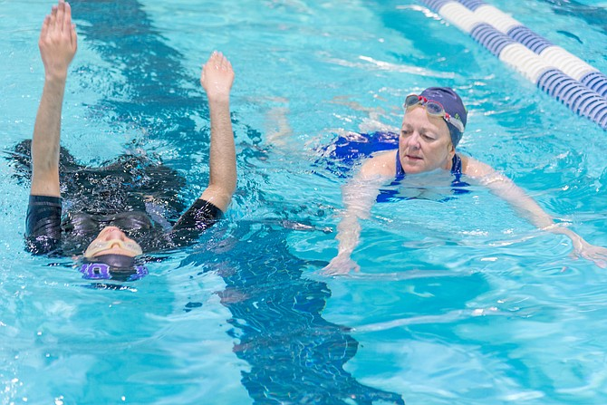 Seniors and retirees who enjoy fitness and aquatic pursuits might enjoy guiding those with disabilities during swimming and water exercise classes.